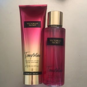 VS Victoria's Secret TEMPTATION Fragrance & Lotion